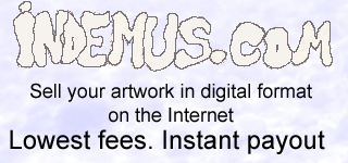 Indemus.com: sell your artwork in digital format, on the internet